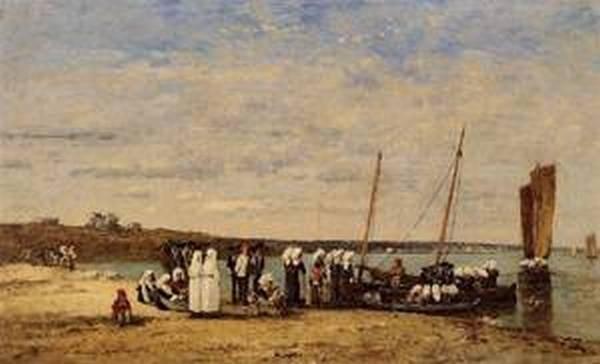 Fishermen of Kerhor Receiving a Blessing at Plougastel 1870